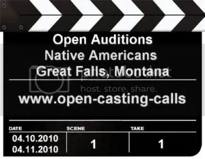 Open Auditions for Native Americans