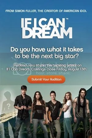 If I Can Dream Auditions Upload Website