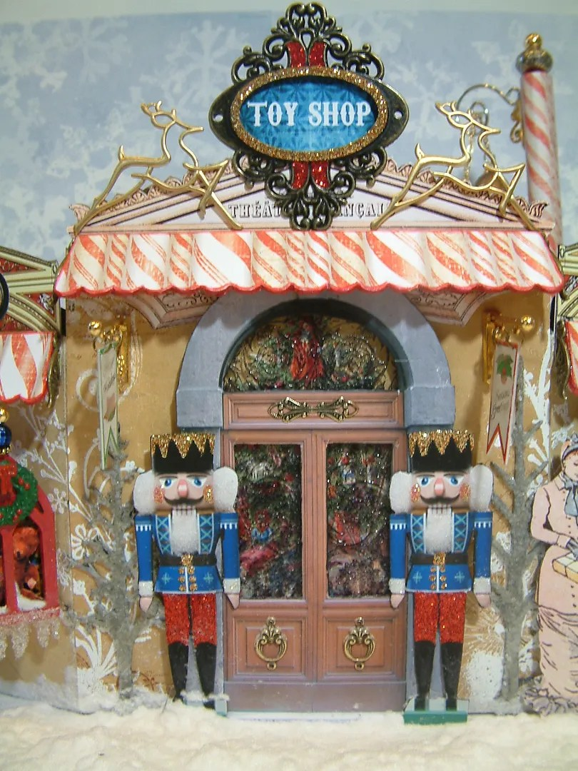Artfully Musing Victorian Christmas Toy Shop Designed