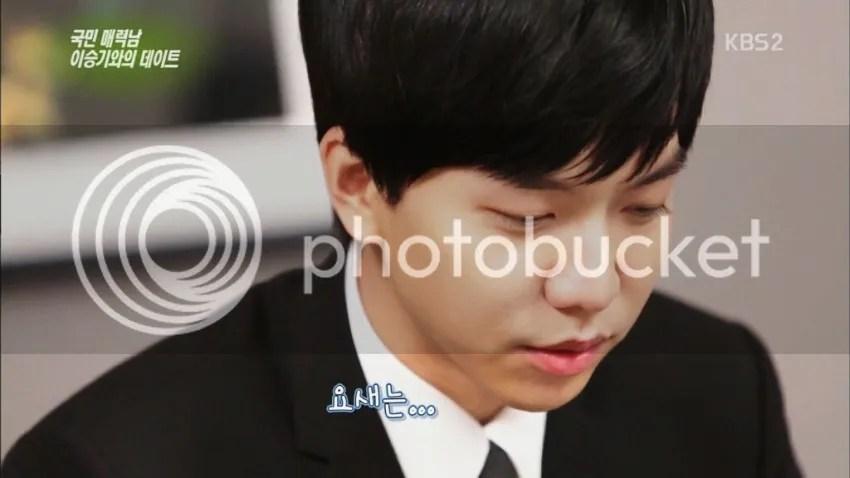 Lee seung gi yoona dating reaction formation