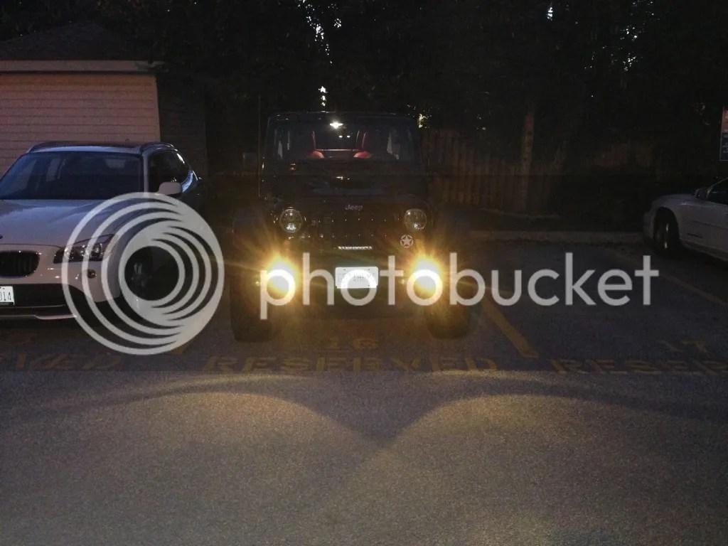 Jeep Wrangler Fog Light Bulb Upgrade