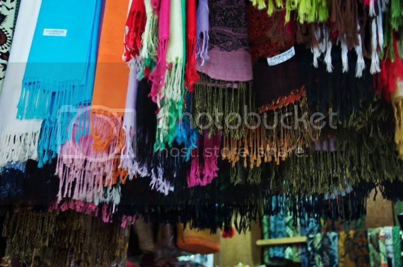 markets,rainbow,colour,sarongs