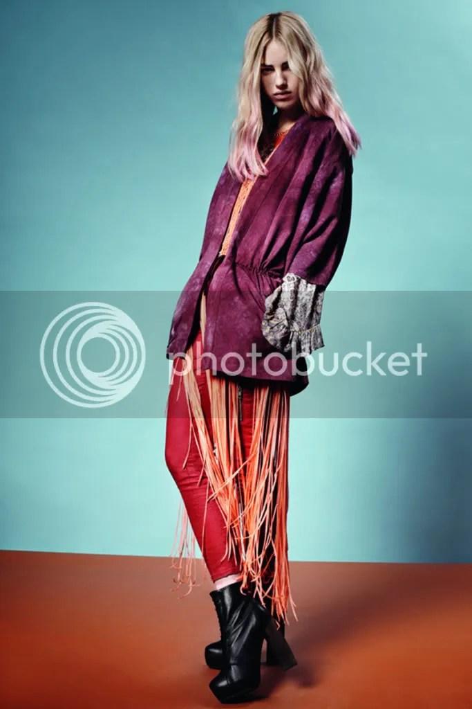 layering,fringe,coat,ombre hair
