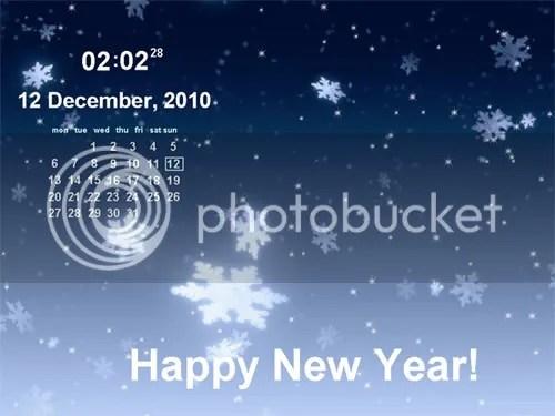 Screen Saver Calendar