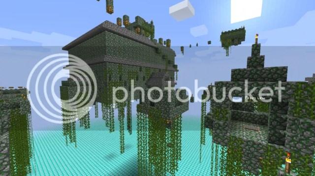 Ruinas Flotantes Mod 1.8.8, 1.8.7, 1.8 y 1.7.10