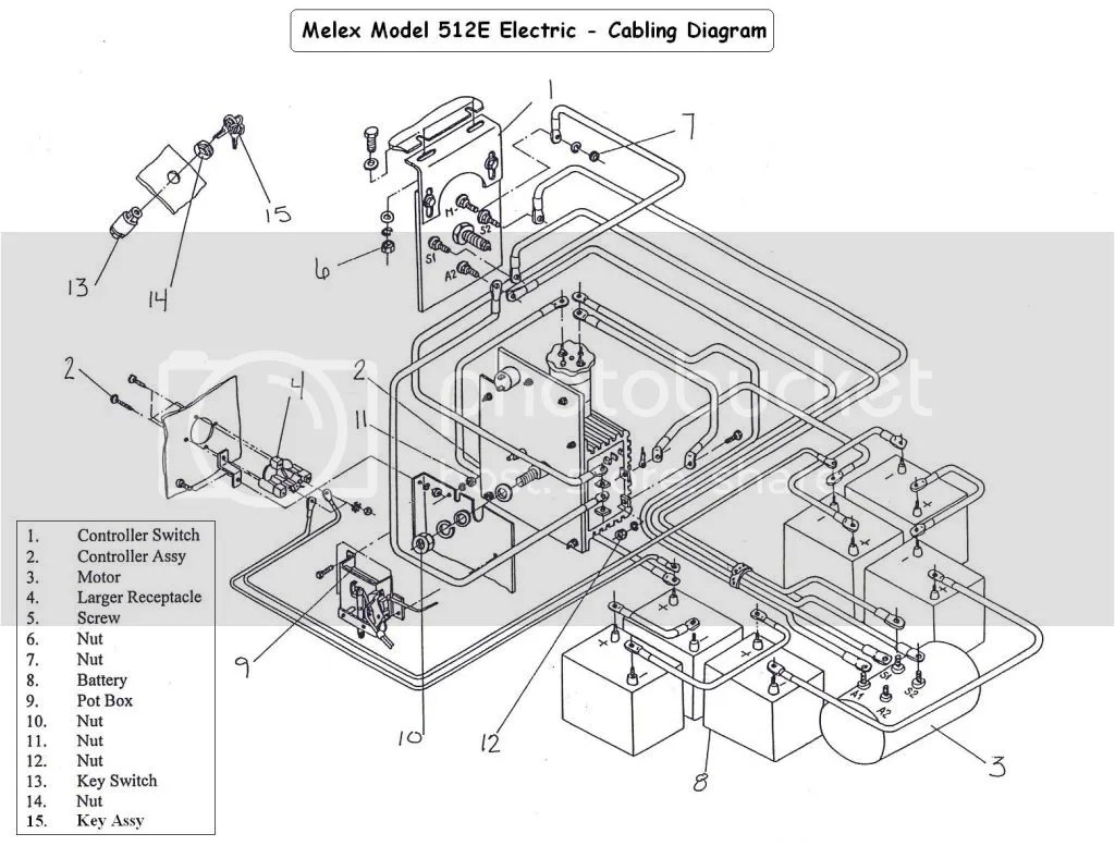 Melex 212 Light Wiring Diagram Model - Wiring Diagrams on