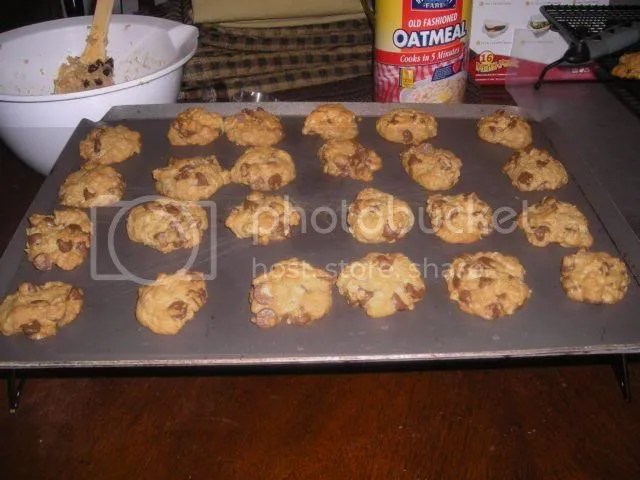 Cooked cookies