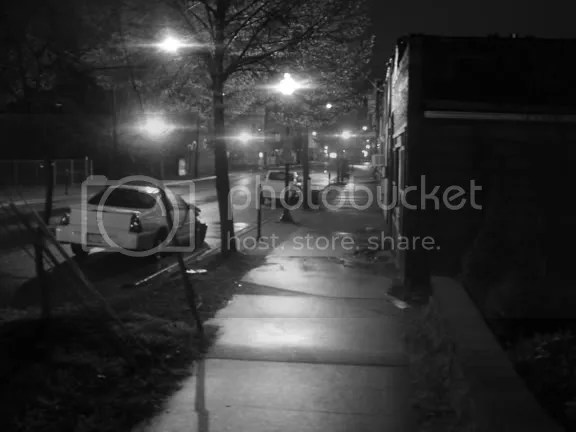 Outside WDBX, Carbondale IL - Original photography by DaveX