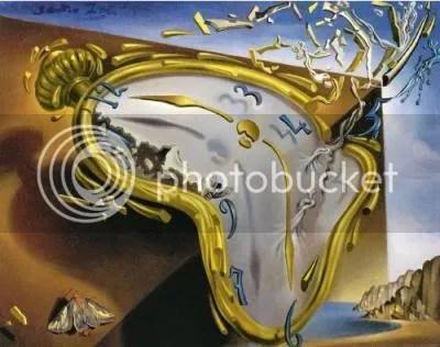 un rellotge de Dalí que es blinca! Clica la imatge per llegir el poema.