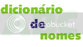 dicionario nomes