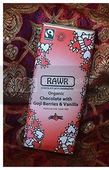 Rawr Goji and Vanilla Chocolate