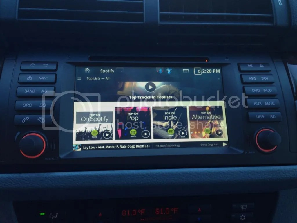 BMW X5 E53 Full Android GPS Navigation System Page 3