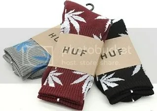 Laced - HUF Plant Life Socks Grey - 20