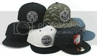Laced - Rebel 8 Hats