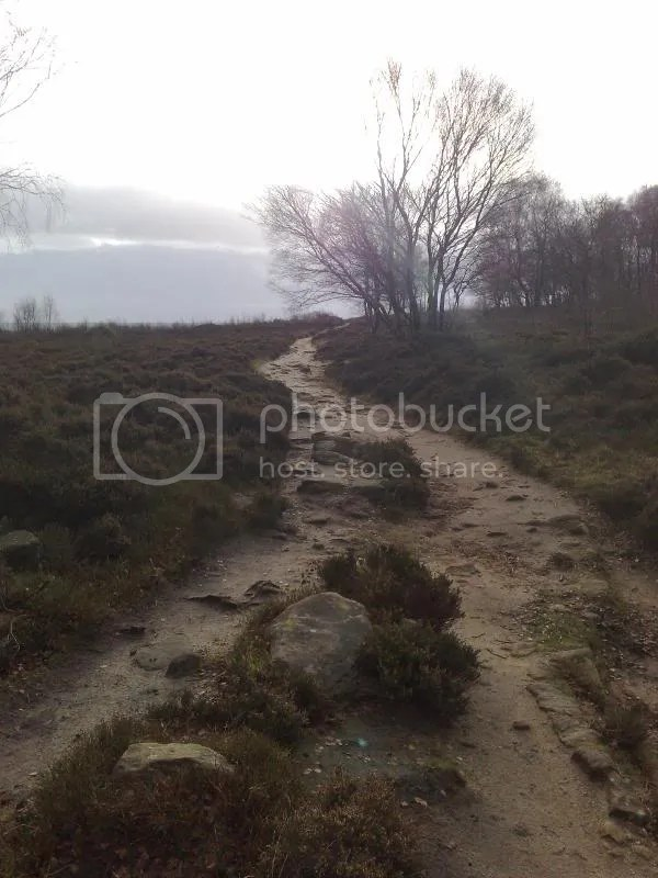 One of the paths over Stanton Moor
