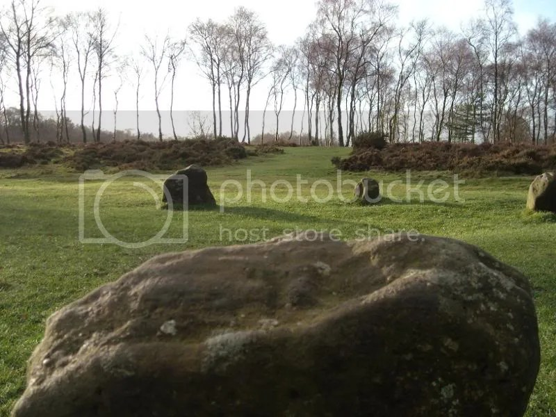Nine Ladies Stone Circle - Stanton Moor