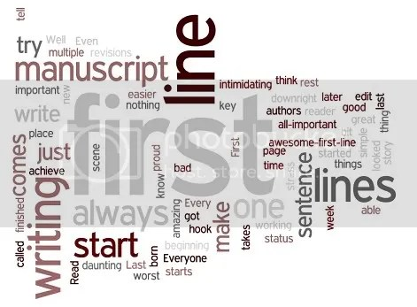 Wordle: First Lines