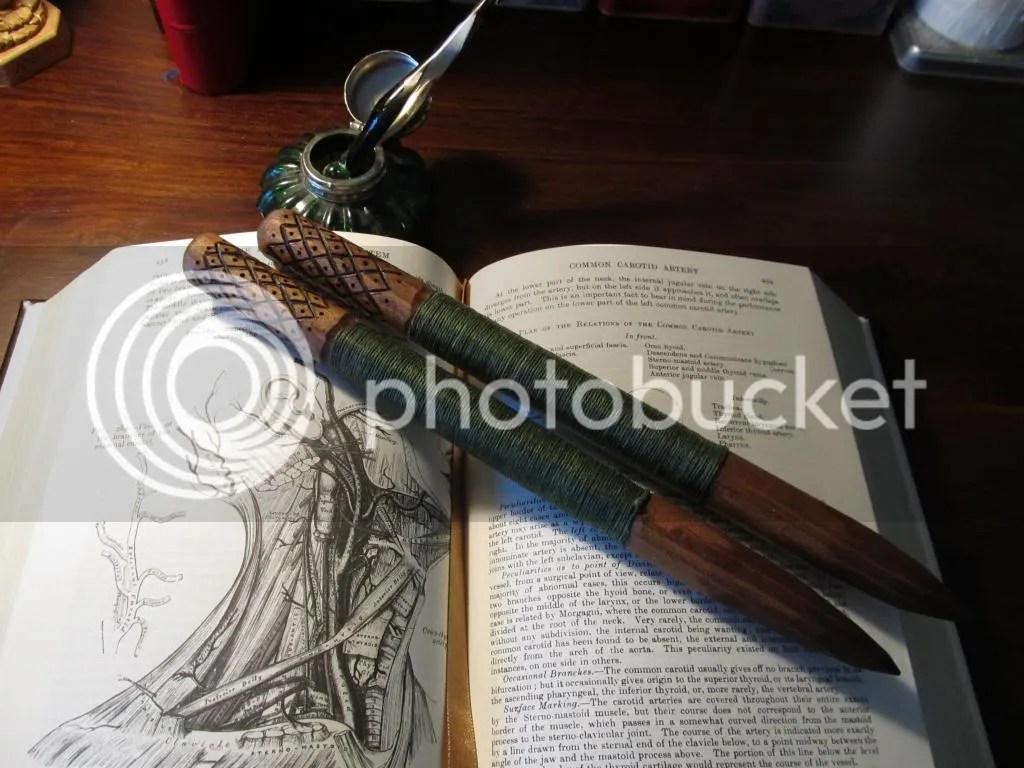 vampire hunter slayer stake wooden