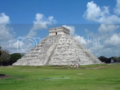 Chichen Itza in vol ornaat