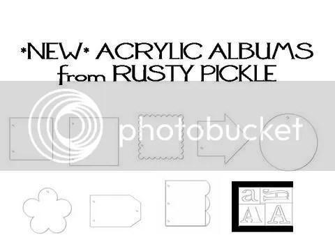 RP acrylic albums