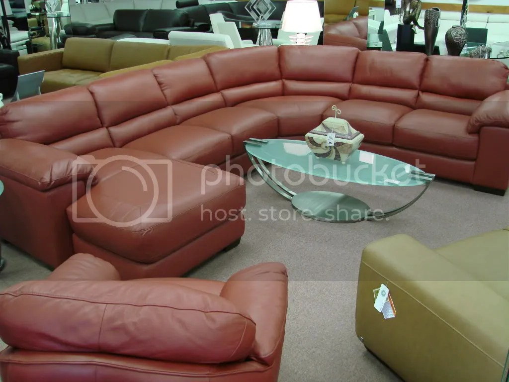 Natuzzi Milano Leather Sectional Sofa Catosfera Net