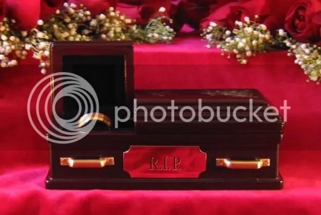Coffin Wedding