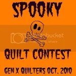 Gen X Quilters Spooky Quilt Contest