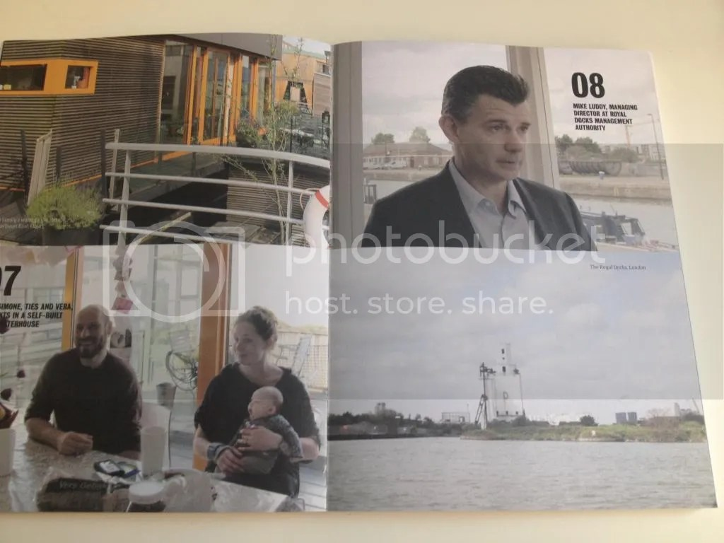 """""""荷兰模式""""项目组对皇家码头管理局的董事经理Mike Luddy进行了采访"""
