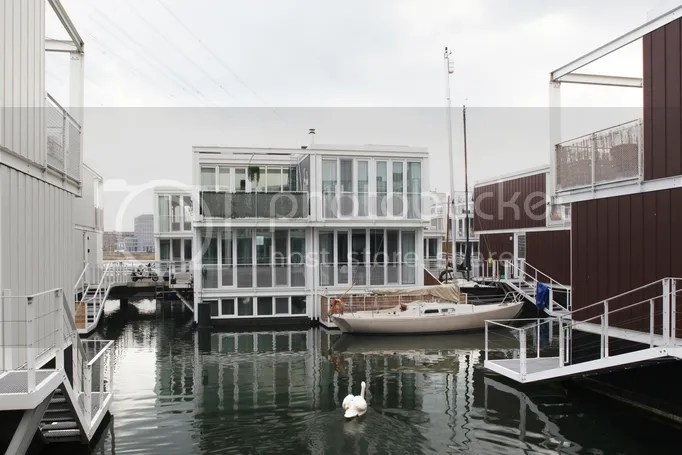 Floating house in Holland