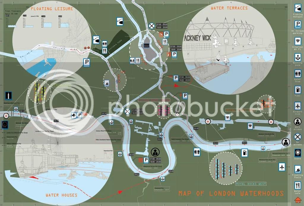 伦敦水域图