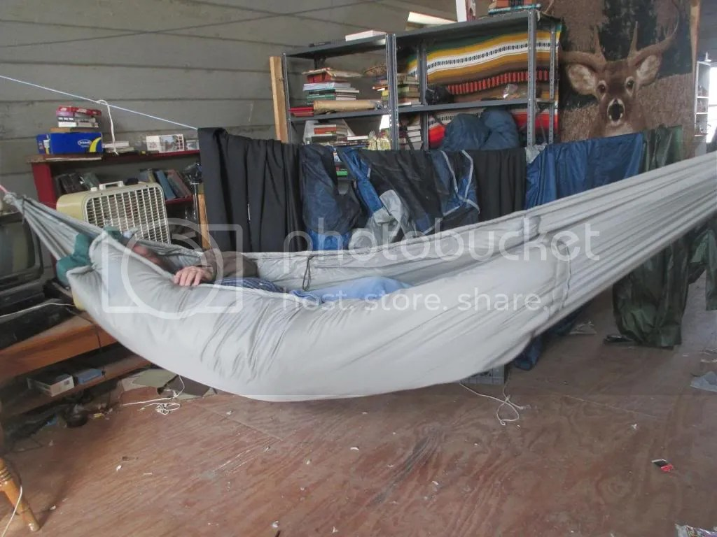 Diy Insulated Hammock Crude But Effective To 10 Degrees