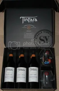 Tintara 2004 SV Shiraz Box Set