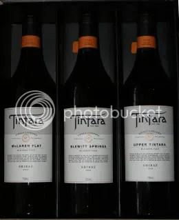 Tintara 2004 SV Shiraz 3 Bottle Set