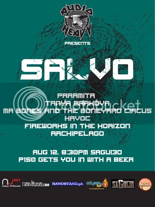 AUDIO HEAVY PRESENTS SALVO