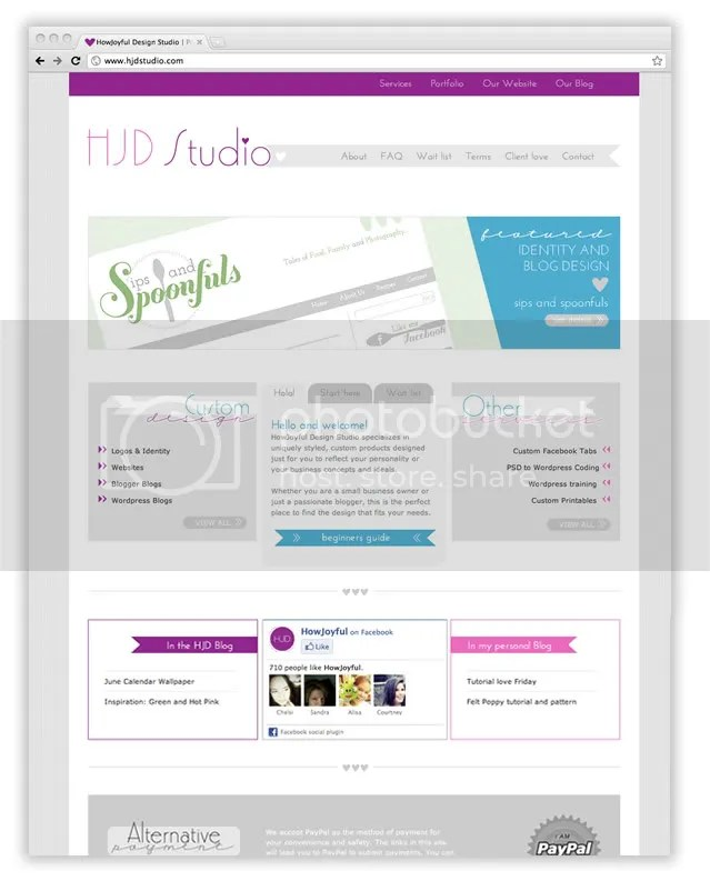 HJD Studio Website