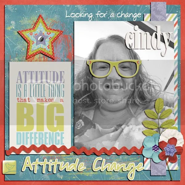 Attitude Change layout from scribler