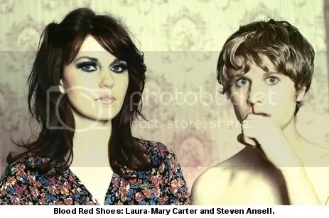 Blood Red Shoes - Laura-Mary Carter and Steven Ansell