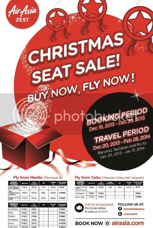 AirAsia Christmas low fare