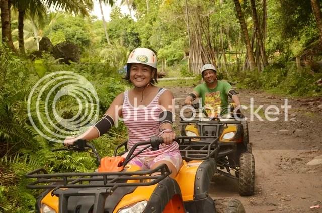 ATV ride in Tejero