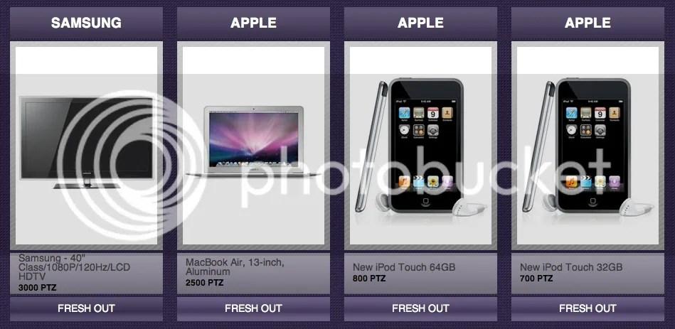 Lockerz - Electronics fresh out