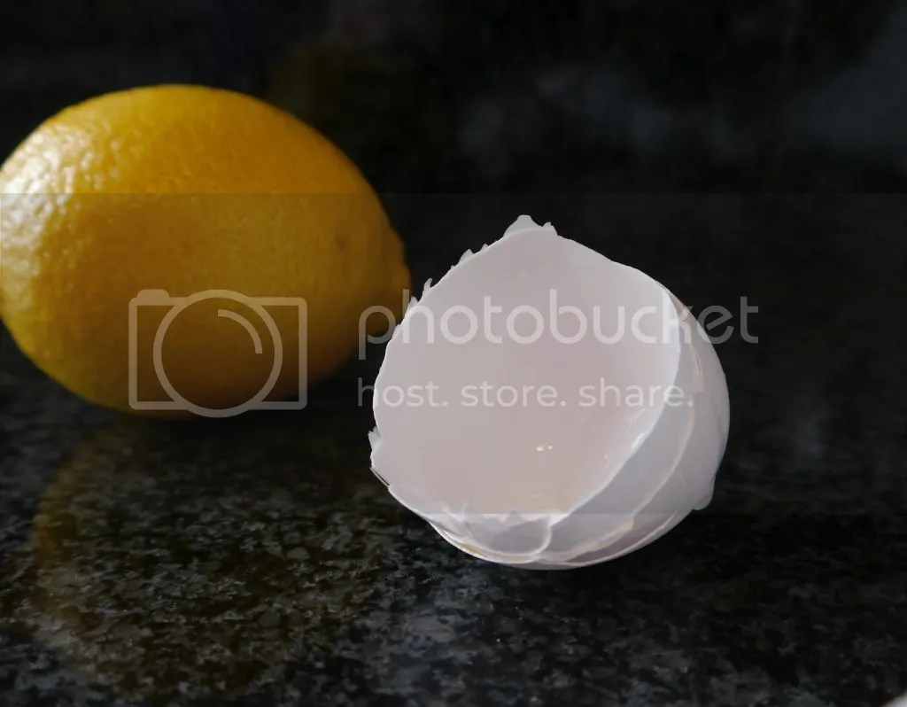 eggshell and lemon