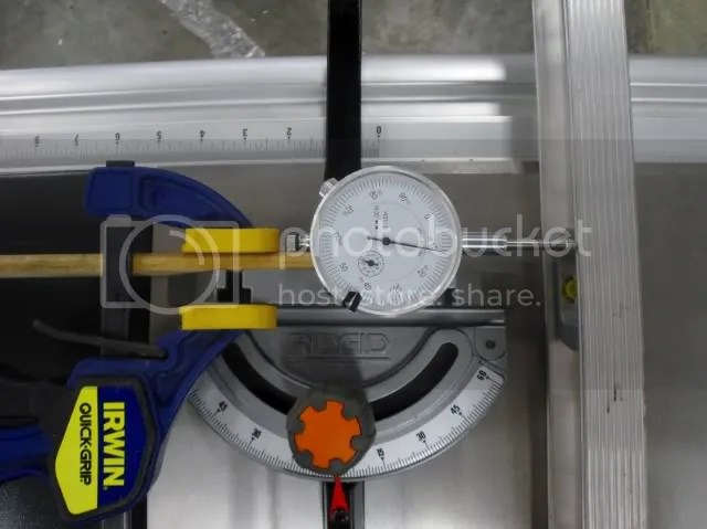 Table Saw Blade Alignment