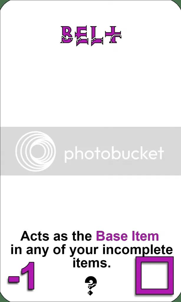 Belt Base Item