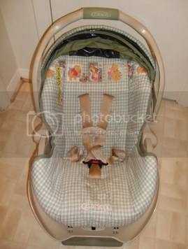 DSCF0894.jpg Graco Snugride Days of Hunny Infant Carseat image by  kristinialeanna