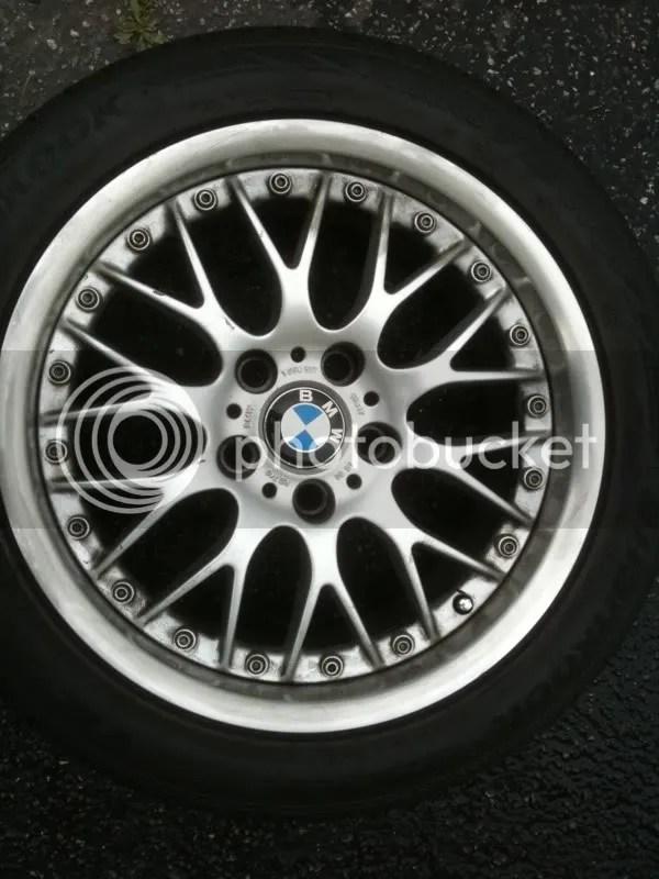FS BBS Style 42 W Tires 17x8