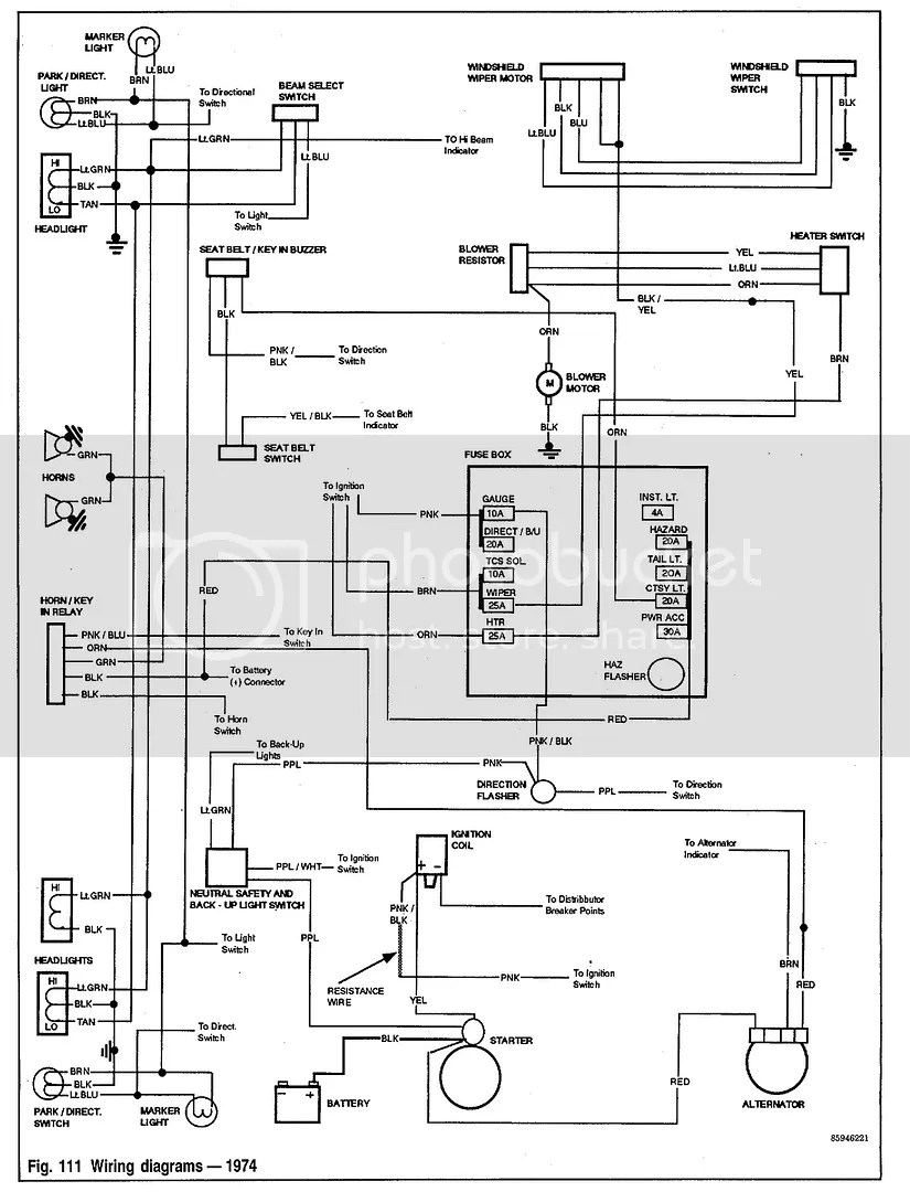 Wiring Diagram Or Shop Amp Body Manual