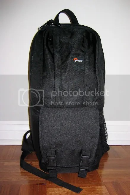The Fastpack 100 from the front