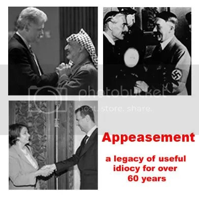 appeasement.jpg appeasement pelosi image by reaganista