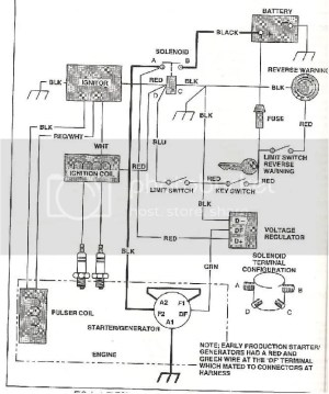 BAD BOY GOLF CART BATTERY WIRING DIAGRAM  Auto Electrical