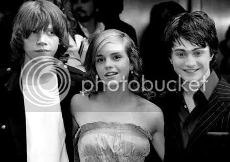 Rupert, Emma, and Daniel